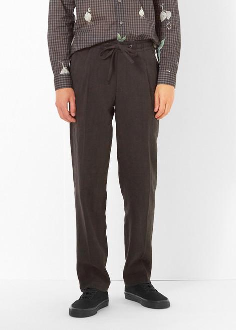 L'Homme Rouge Garden Linen Pants