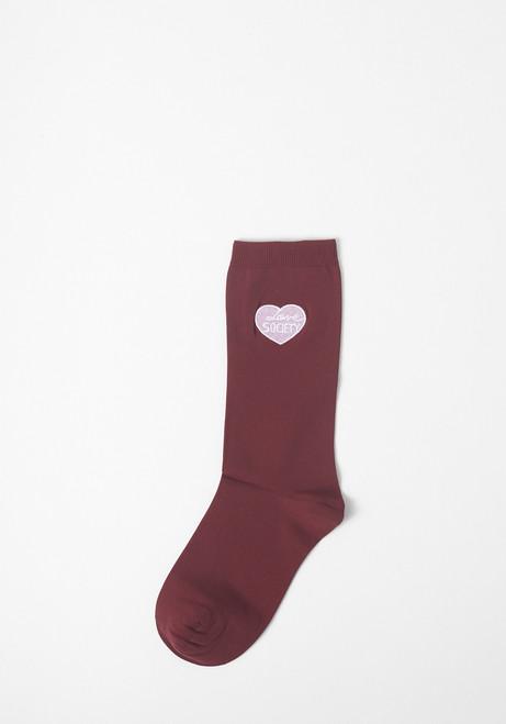"Ganni Classon ""Love Society"" Socks"