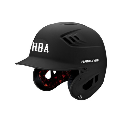 HBA Batting Helmet Travel Baseball San Diego