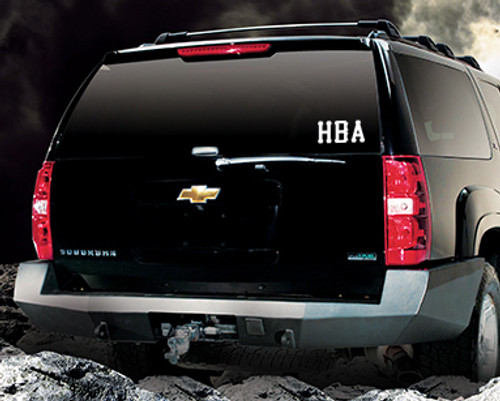 HBA Car Sticker