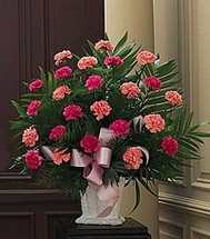 Classic Carnation Basket