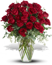 Forever Beloved - 30 Long Stemmed Red Roses Premium