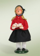 Salvation Army Girl with Doughnuts