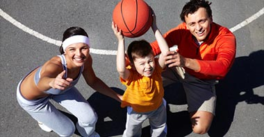 How to Teach Your Child to Play Basketball