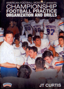 CHAMPIONSHIP FOOTBALL PRACTICE ORGANIZATION by American Football Monthly Instructional Basketball Coaching Video