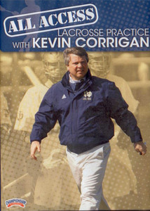 All Access Lacrosse Practice with Kevin Corrington by Kevin Corrigan Instructional Basketball Coaching Video