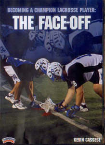 Becoming a Champion Lacrosse Player: The Face-Off by Kevin Cassese Instructional Basketball Coaching Video