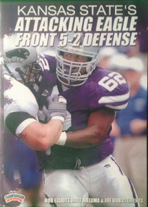 (Rental)-KANSAS STATE'S ATTACKING EAGLE FRONT 5-2