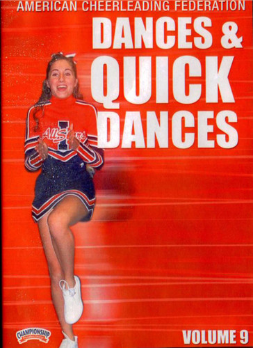American Cheerleading Federation: Dances & Quick Dances by Mark Bagon Instructional Cheerleading Coaching Video