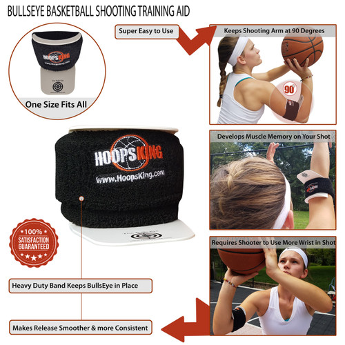 Bulls Eye Basketball Armband - details