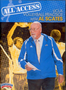 ALL ACCESS UCLA VOLLEYBALL WITH AL SCATES (SCATES) by Al Scates Instructional Volleyball Coaching Video