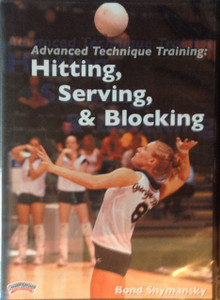 ADVANCED TECHNIQUE TRAINING: HITTING, SERVING & BLOCKING by Bond Shymansky Instructional Volleyball Coaching Video
