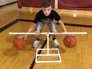 The Dribble Defender - basketball dribble aid