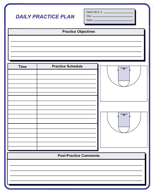 basketball coaching forms. Black Bedroom Furniture Sets. Home Design Ideas