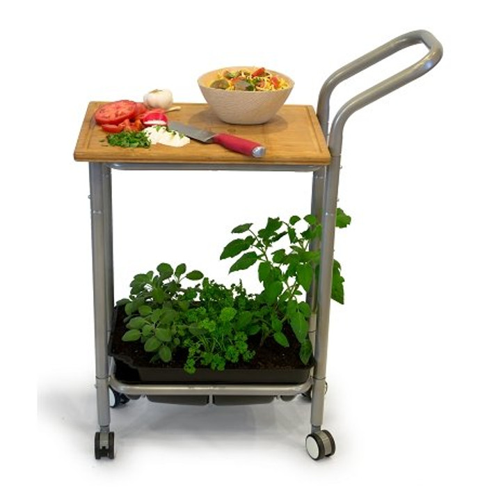Homegrown Gourmet Harvest Kitchen Cart