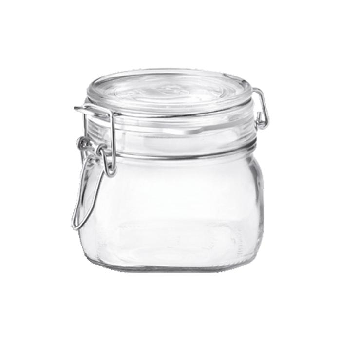 Fido Jar - .5L (17 oz) - Clear Lid