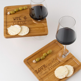 Bamboo Party Plate (set of 4)