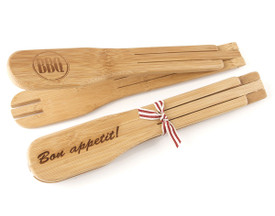 Bamboo Salad Tongs