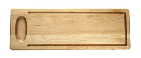 "Custom Artisan Bread Maple Wood 20""x7"""