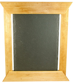 "Custom Artisan Slate/Chalk Menu 14""x12"""
