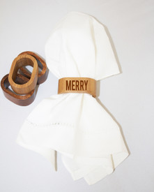Holiday Napkin Rings (set of 4)