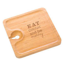 Holiday Bamboo Party Plate (set of 4)