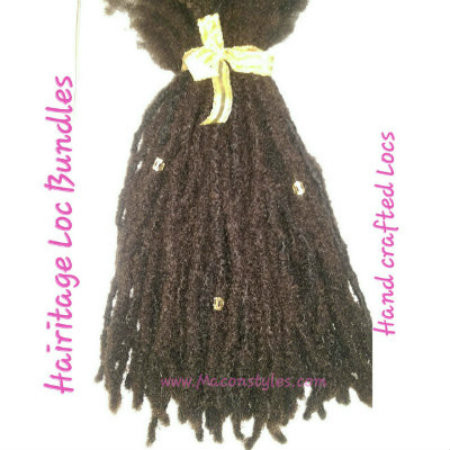 Hairitage loc bundle handmade locs macon styles pricing includes a kit containing tools needed for installation and our 1 on pmusecretfo Gallery