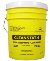 B8105,  CLEAN STAT 4 ESD FLOOR FINISH : 5 GAL