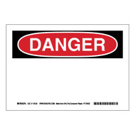 118154 Eco-Friendly Danger Sign
