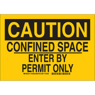 124288 Confined Space Sign