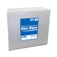 """WICKED AWESOME BLUE WIPES 9"""" X 16.5"""", 100 POP UP/BOX, 9 BOXES/CASE, 24 CASES/PALLET."""
