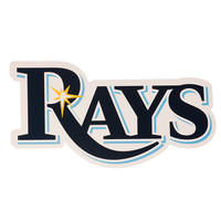 "Tampa Bay Rays 8"" x 8"" Die Cut Decal"