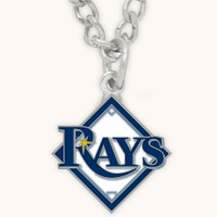 Tampa Bay Rays Charm Necklace
