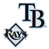 """Tampa Bay Rays WinCraft 5"""" x 9"""" 2-Pack Magnet Set"""
