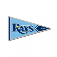 Tampa Bay Rays Collector Pin Jewelry Card