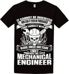 Mechanical Engineer Short Sleeve Tee