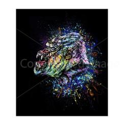 VDD Exclusive Gorilla Warfar - Black Rainbow Splatter