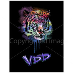 VDD Exclusive Tiger Black Purple Haze -VDD