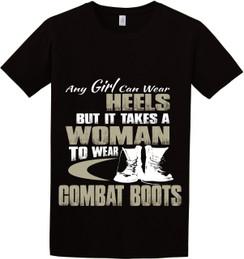 Combat Boots TShirt
