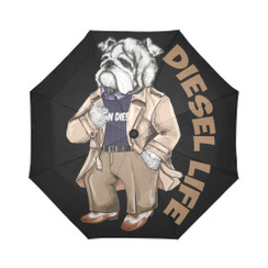 Sun Umbrella Trench Bulldog Diesel Life Umbrella Rain Accessories Bulldog