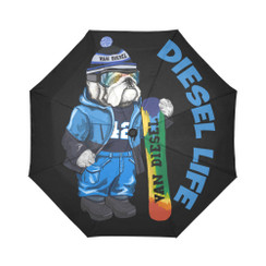 Sun Umbrella Snowboard Bulldog Diesel Life Umbrella Rain Accessories Bulldog