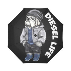 Sun Umbrella Streetwear  Bulldog Diesel Life Umbrella Rain Accessories Bulldog