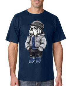 Diesel Life Beanie Bulldog Mens T-Shirt