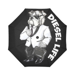 Sun Umbrella Tuxedo  Bulldog Diesel Life Umbrella Rain Accessories Bulldog