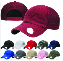 Dad Hat Mesh  Baseball Cap  Free 1 Location Text