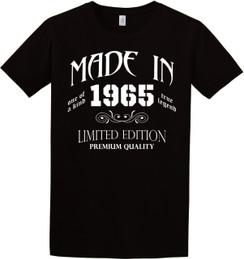 Birthday - Made In Birth Year Tshirt