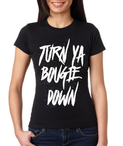 Bougie Turn Down Tank Tshirt Ladies