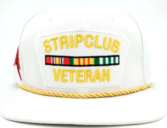 Strip Club Veteran Hat Free Text Embroidery