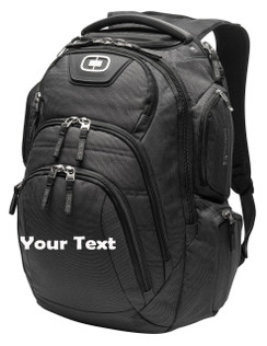 OGIO Surge RSS Backpack Personalized with Text Embroidery