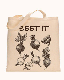 Tote Bag Beets, Carrots, Veggies, Lemon, Lime, Pineapple, Vegan Tote bag